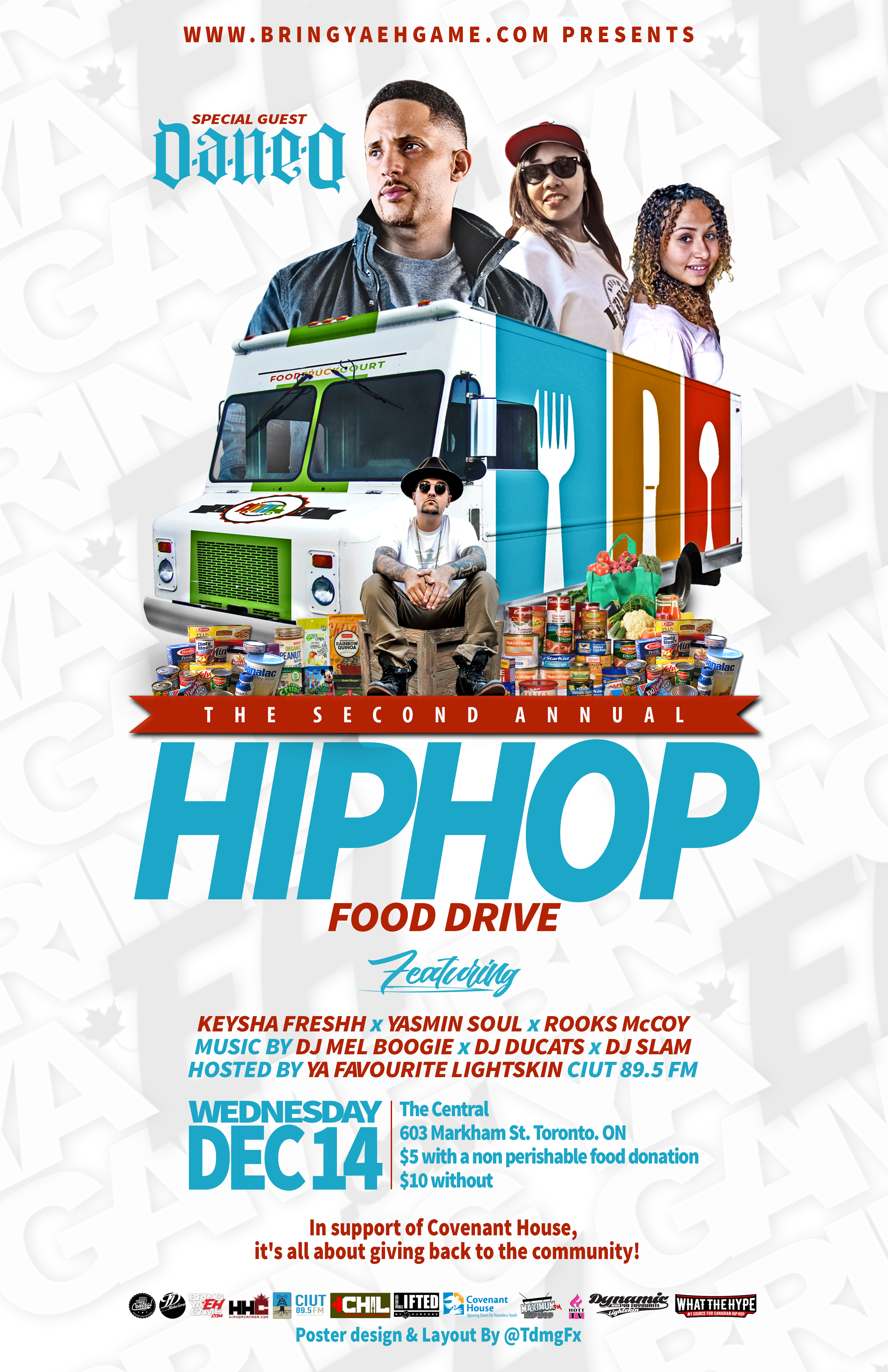 The 2nd Annual Hip Hop Food Drive